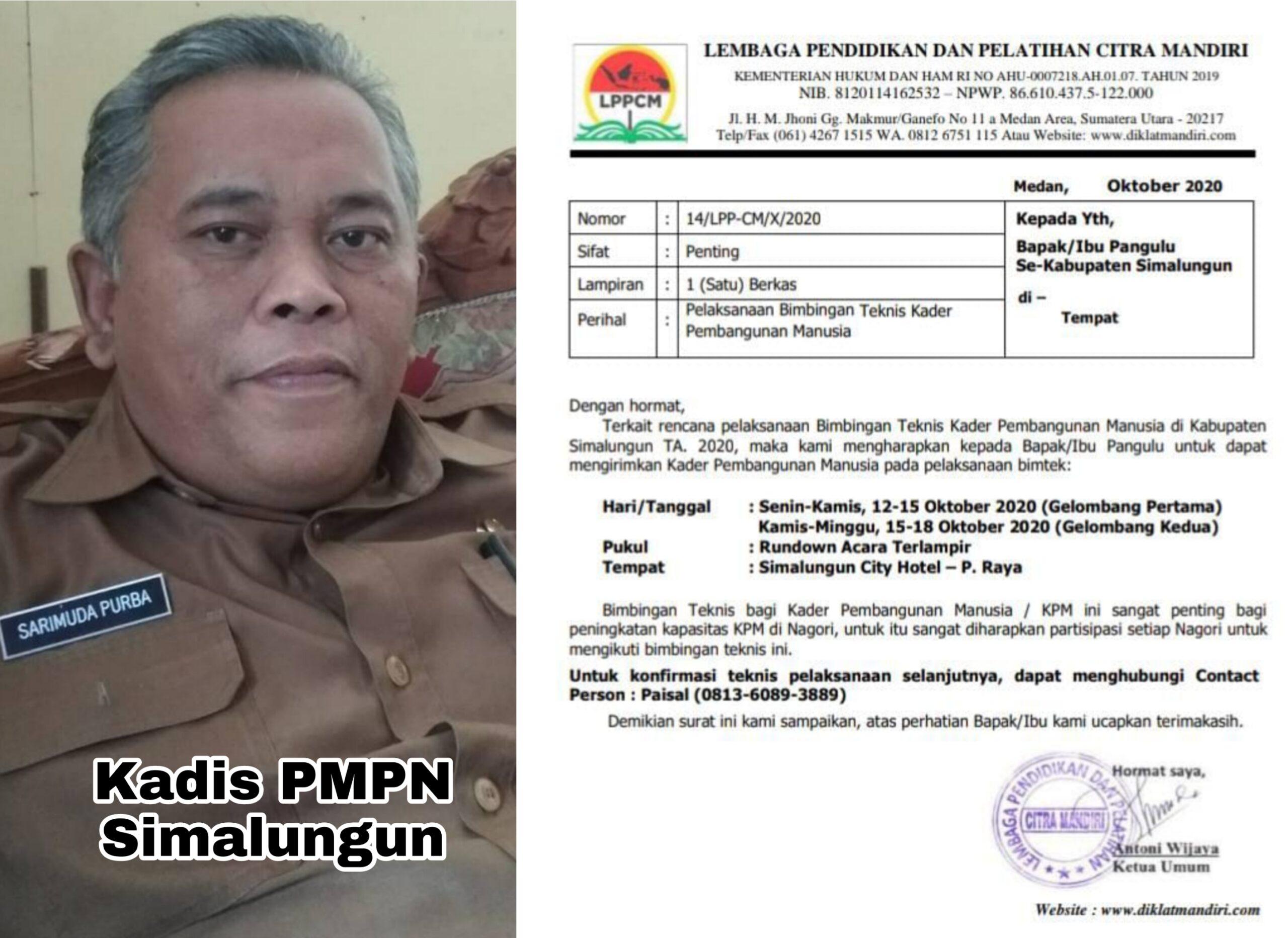 """""""Dihimbau JRS,"""" Kadis PMPN diduga Arahan Pangulu Nagori"""