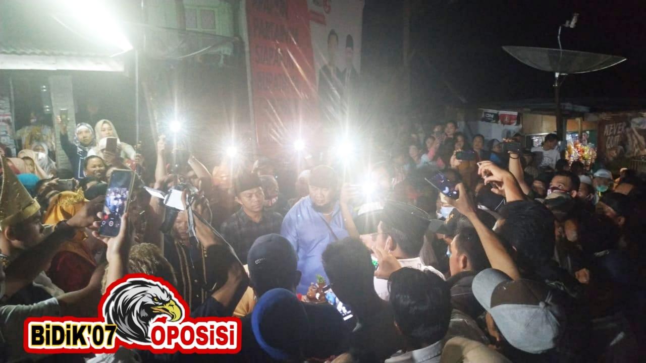 Road Show Agusrin, Antusias Masyarakat Tinggi, Bukan Setingan..!!