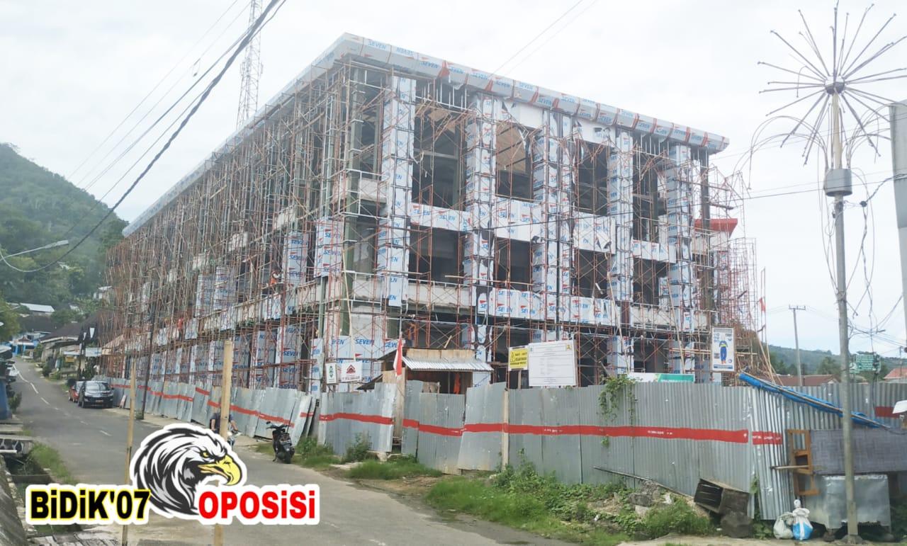 """43 M Bangun Pasar Modern Lebong """"Ala Sang Penguasa"""""""