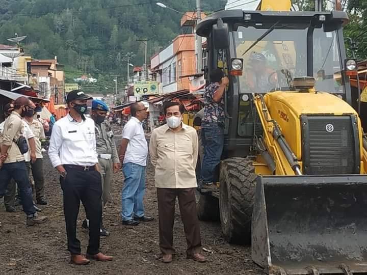Martin Sebut Status Jalan M. Yamin Tanjung Bajure Bukan Jalan Nasional