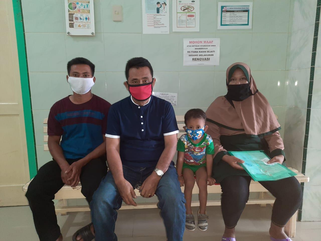 Operasi Dilakukan, Orangtua Putra Pratama Berterimakasih dan Doakan RHS Memenangkan Pilkada Kabupaten Simalungun