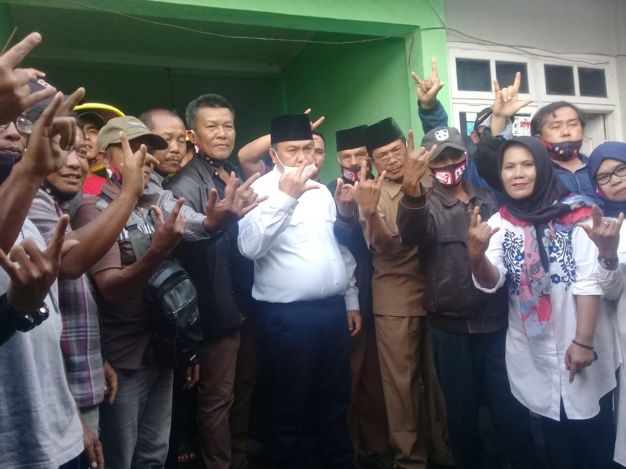 Tim Pandawa Rejang Lebong, Siap Menangkan Agusrin-Imron 87 %