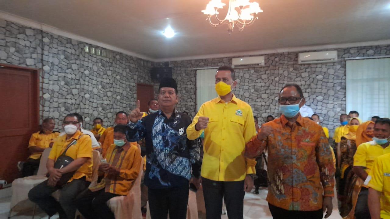Ketua DPD Golkar Sumut Tekankah Seluruh Kader untuk Memenangkan Paslon No Urut 1 RHS-ZW