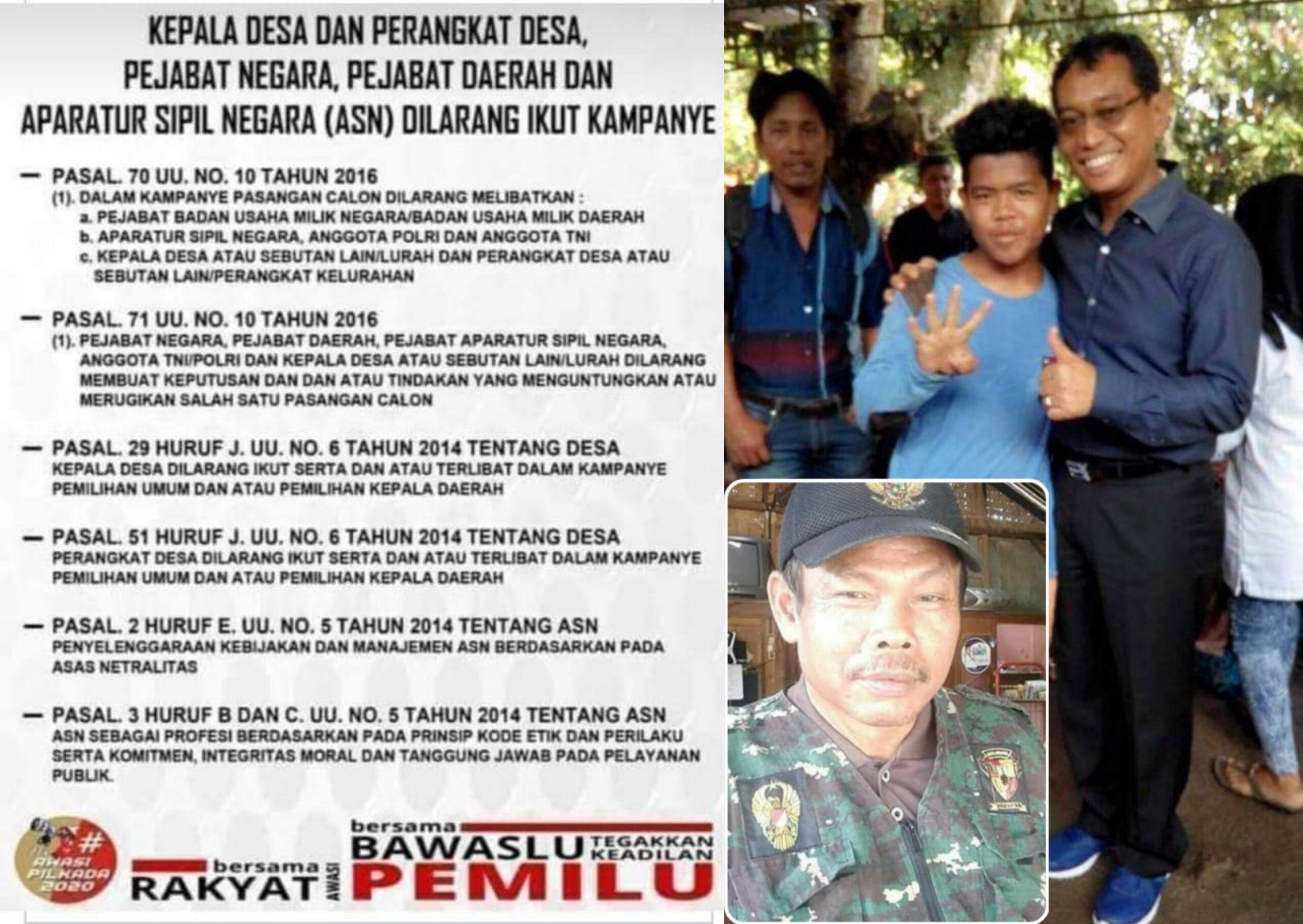 "DPD GNI Simalungun : Bawaslu Harus Tegas  ""Kades TS"" ?"