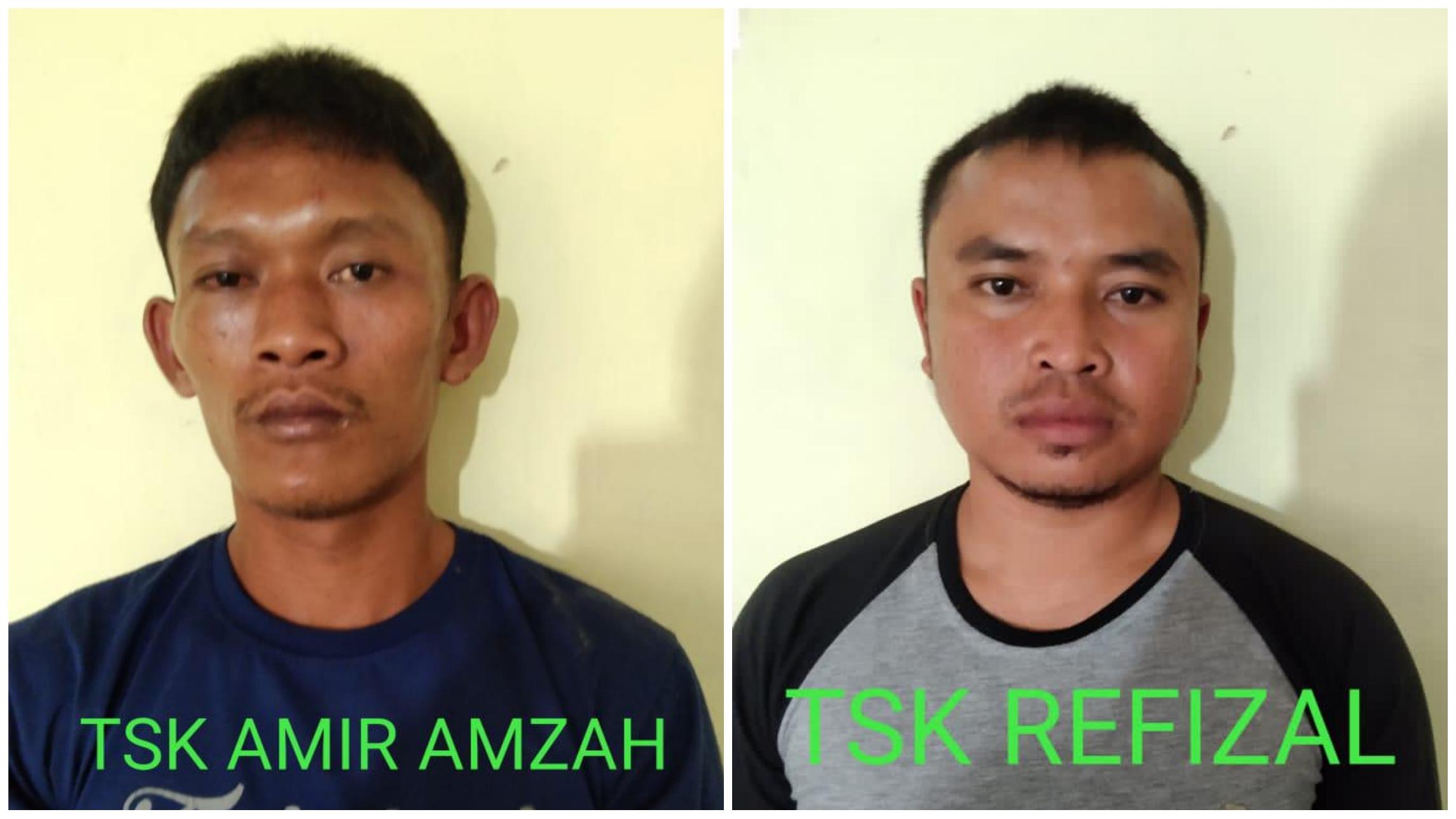 Akibat Horas Paten Kurir dan Pemilik Narkoba di Simalungun diamankan Polisi
