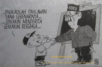 Guru Pahlawanku, Guruku Nasibmu Malang?