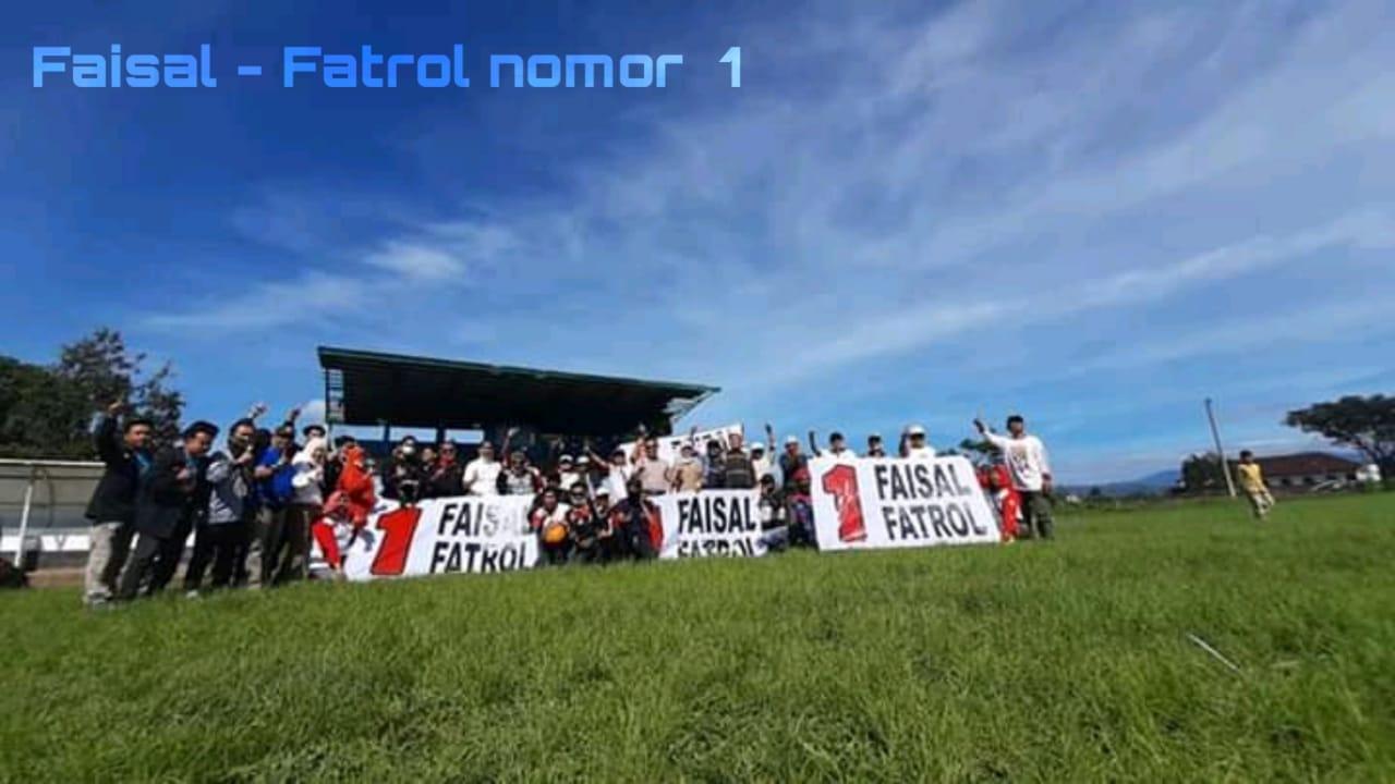 Paslon Faisal-Fatrol Kenalkan Olah Raga Para Motor Pada Masyarakat Rejang Lebong