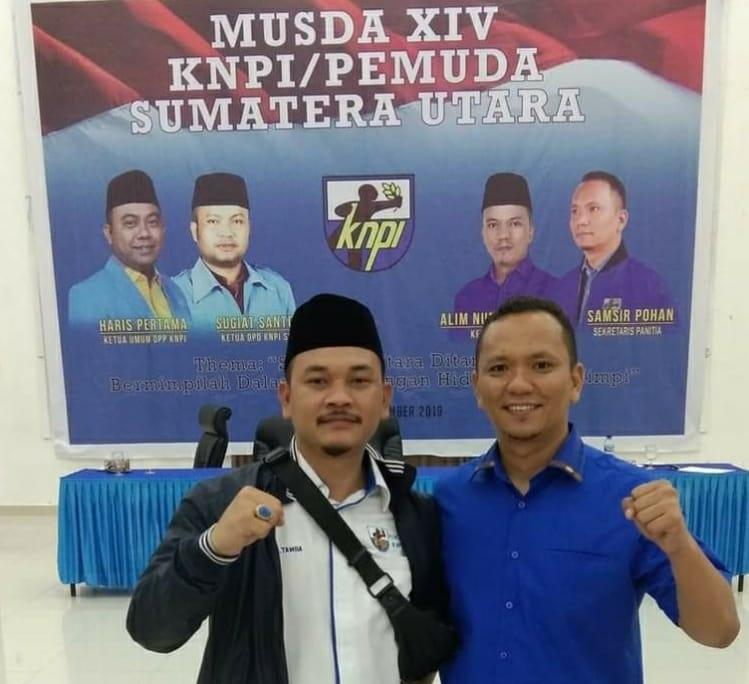 KNPI Sumut Ajak Warga Simalungun Bersatu Wujudkan Perubahan, Radiapoh Sinaga-Haji Zonny Pilihan Tepat