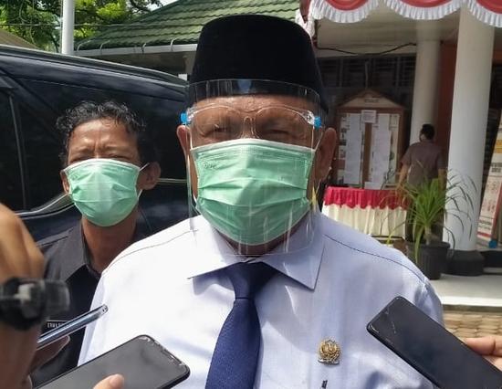 Senator Bengkulu Ahmad Kanedi, Ajak Masyarakat Patuhi Prokes