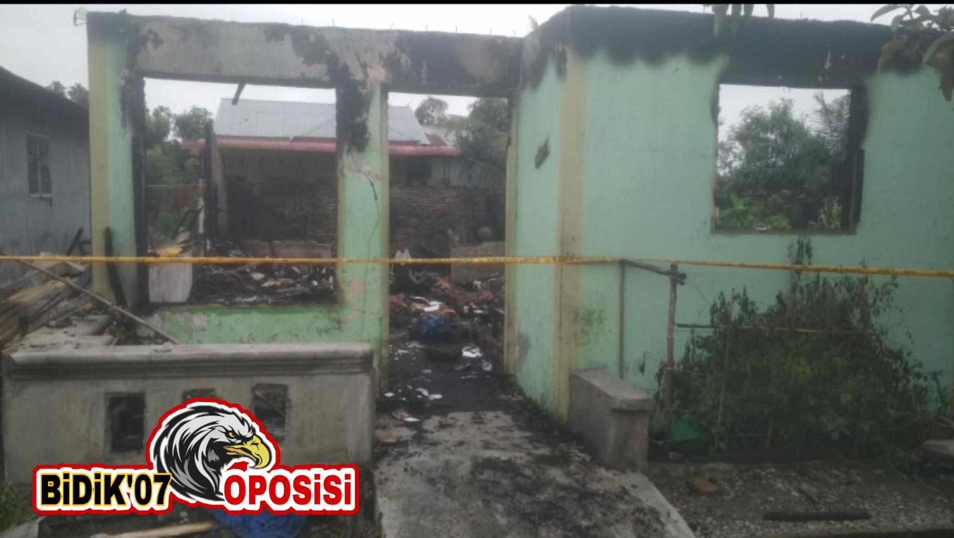Rumah Orangtua Wartawan Diduga Sengaja Dibakar OTK