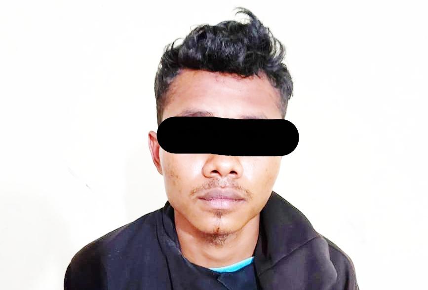 Satres Narkoba Polres Simalungun Ringkus Pemuda Kampung Bandar Jambu Miliki Dua Paket Shabu