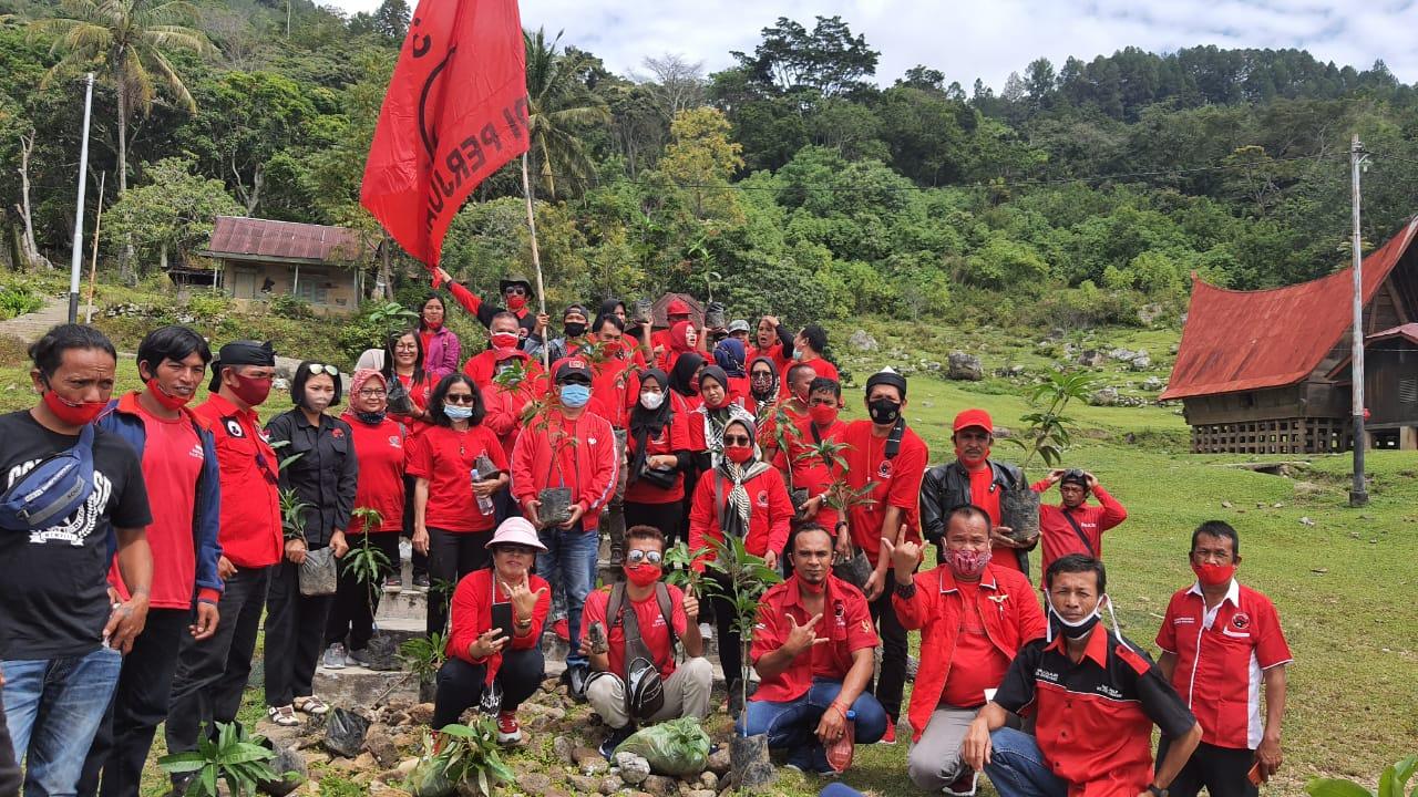 Hari Ulang Tahun Megawati, PDIP Simalungun Tanam Seribu Pohon