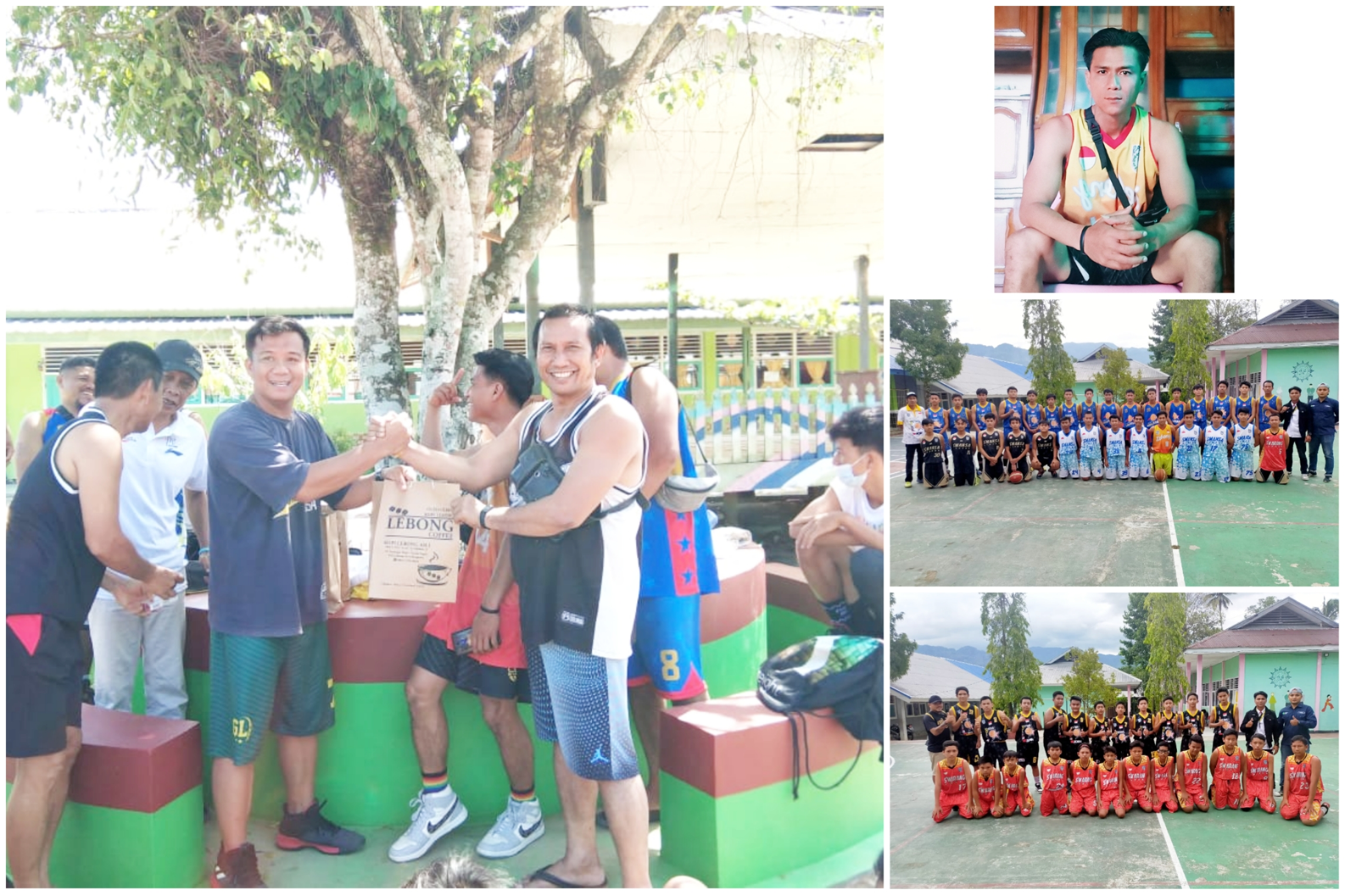 Club Basket Golden Star Junior, Sparing di Bumi Swarang Patang Stumang