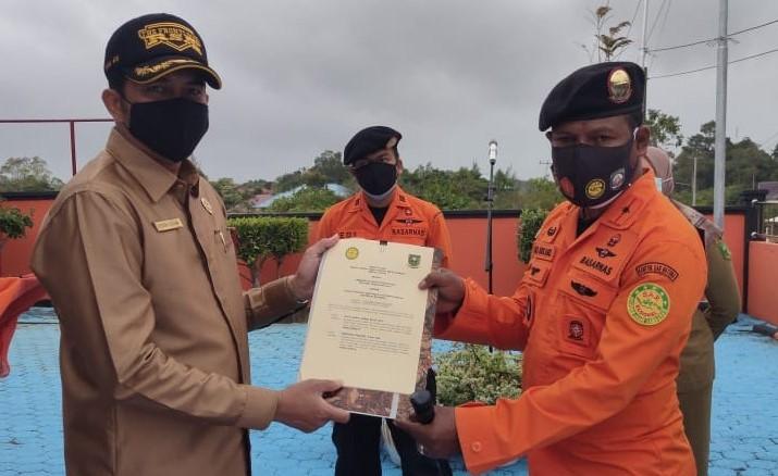 Hibahkan Tanah Bangun, Kepala KPP lewat Wakil Plt Sekda Natuna