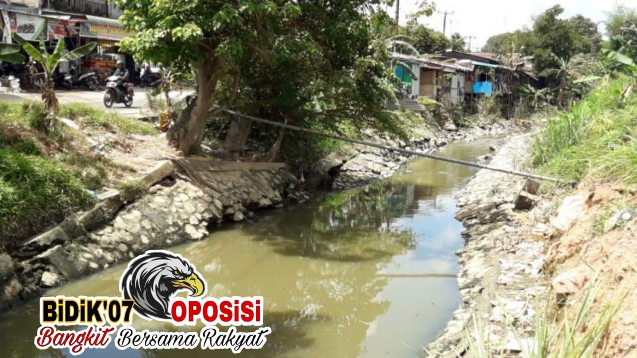 Drainase Rusak Parah, Perumahan Mukakuning Pratama (MKP) Terancam Banjir