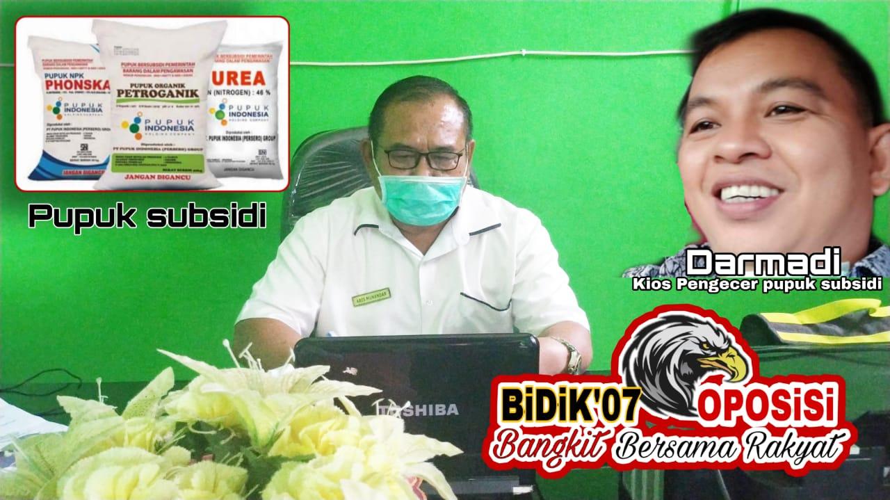 """Aris Munanadar : Jual Pupuk Subsidi Luar HET """"Bisa Dilakukan Tindakan Hukum"""""""