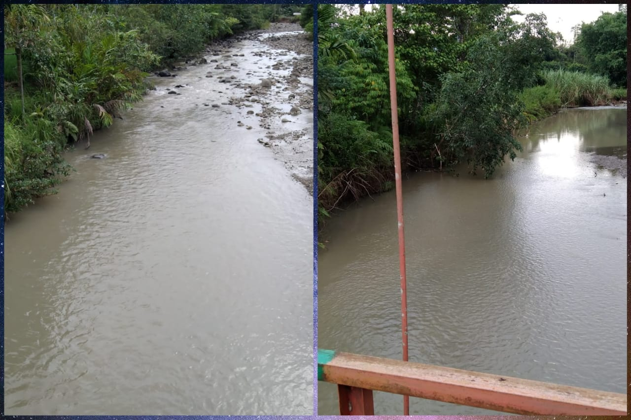 Sungai Udik Diduga Tercemar Bekas Limbah PT. JR, Masyarakat Ketenong II Keluhkan Air Bersih