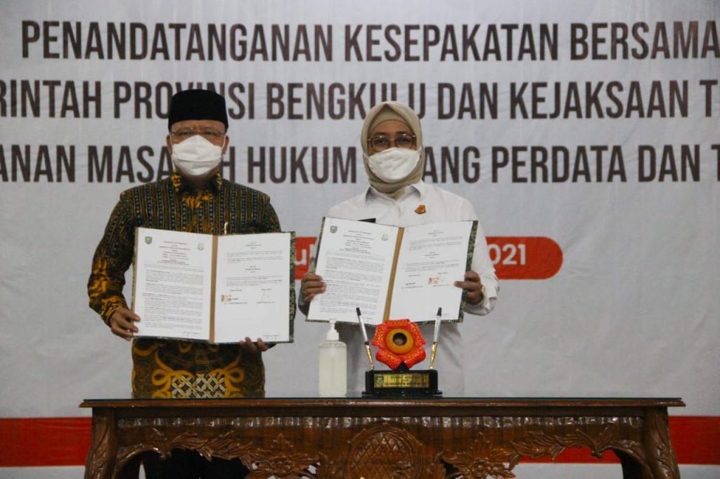 Gubernur Bengkulu : Pembangunan Daerah Butuh Pendampingan Aparat Penegak Hukum