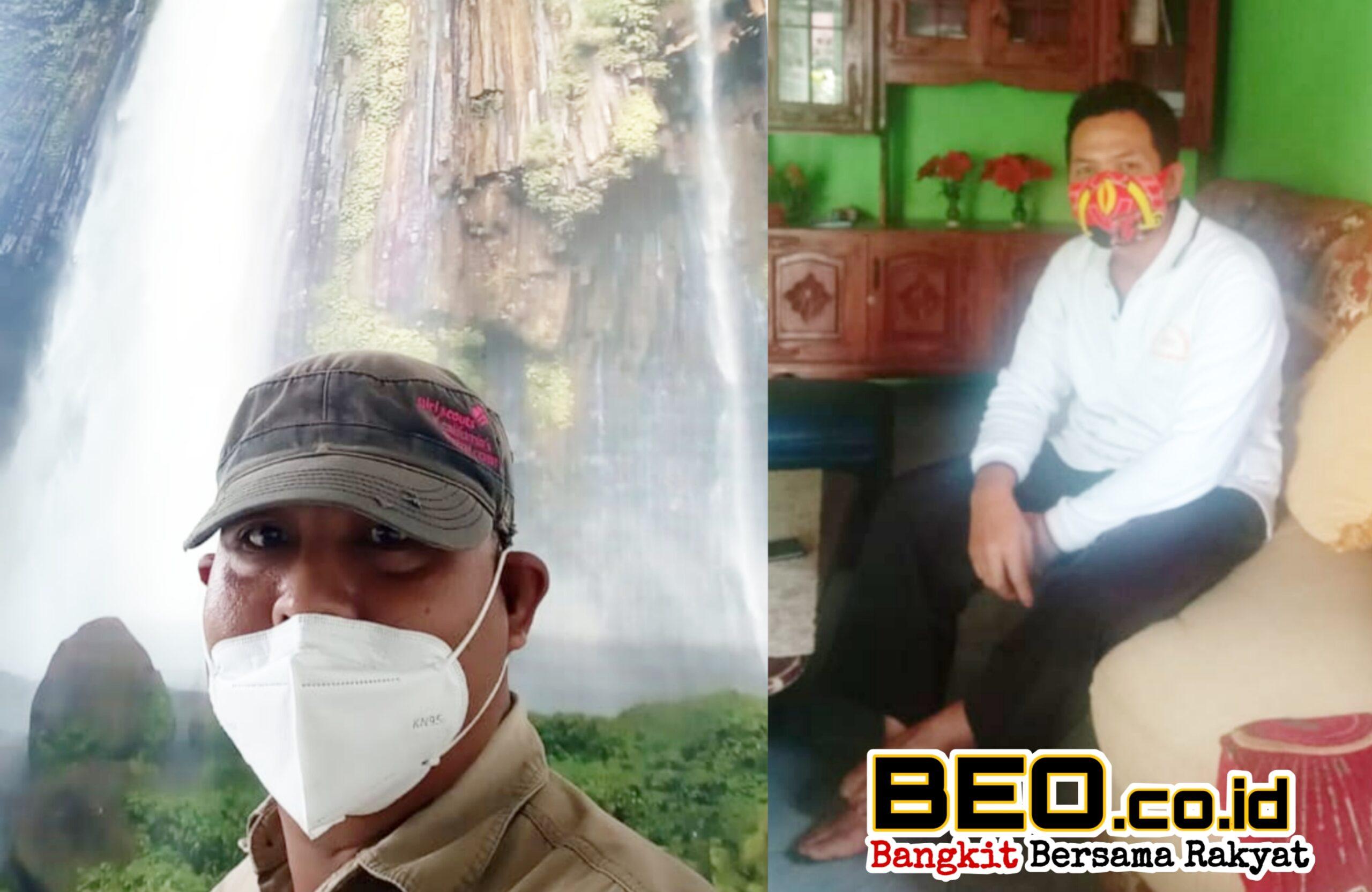 Keindahan Air Terjun Muara Karang Blitar, Sugiarto : Pemerintah Bantu Shalter & UKM