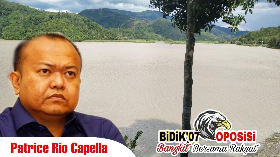 Patrice Rio Capella Angkat Bicara, Danau Tes Lebong Berubah Warna ?