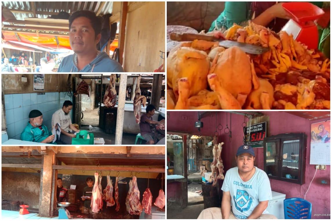Ini Alasan Pedagang Daging, Wabup RL Sidak Temukan Ada Item Harus di Benahi