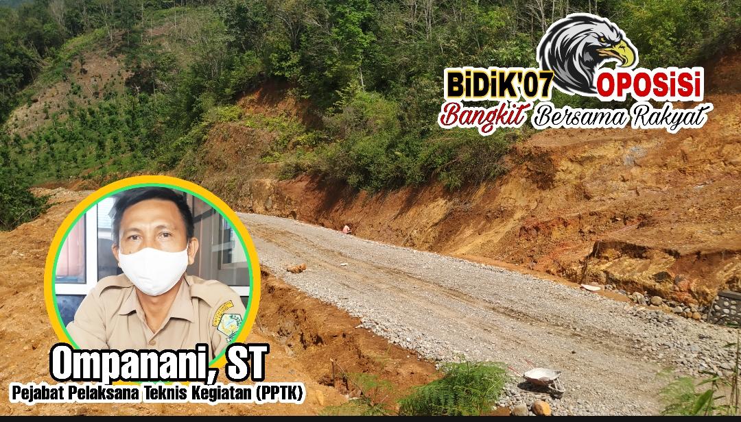 Progres Peningkatan Jalan  Tanjung Agung – Danau Liang 9,2 M Mencapai 30 Persen