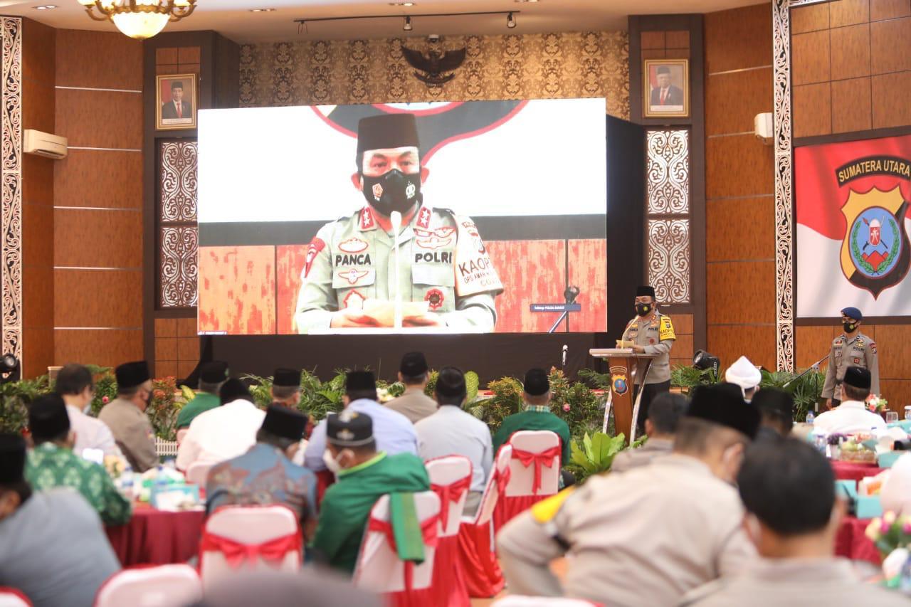 Kapolda Sumut Jalin Silaturahim Bersama Tokoh Lintas Agama Sambut Bulan Ramadhan