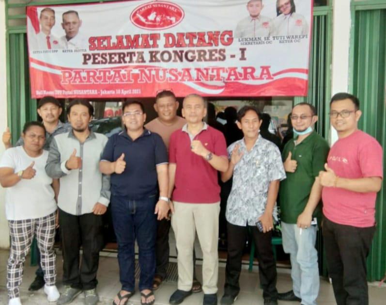 Usai kongres I, Ketum Partai Nusantara Ucapkan Terima Kasih dan Mohon Maaf