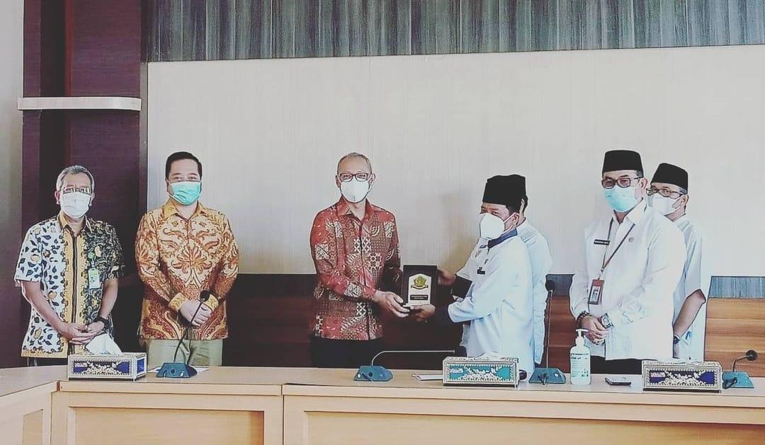Kunjungan PT. PGE, Sekda Sebut Silaturahmi Biasa