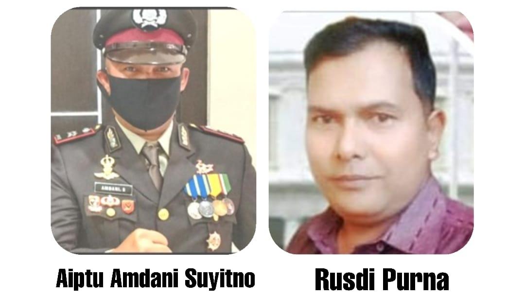 """Konfirmasi Tertulis Pada Saudara Rusdi Purnama: Berita Sergap.co.id """"Tudingan Terhadap Aiptu Amdani, Mafia Tanah?"""""""