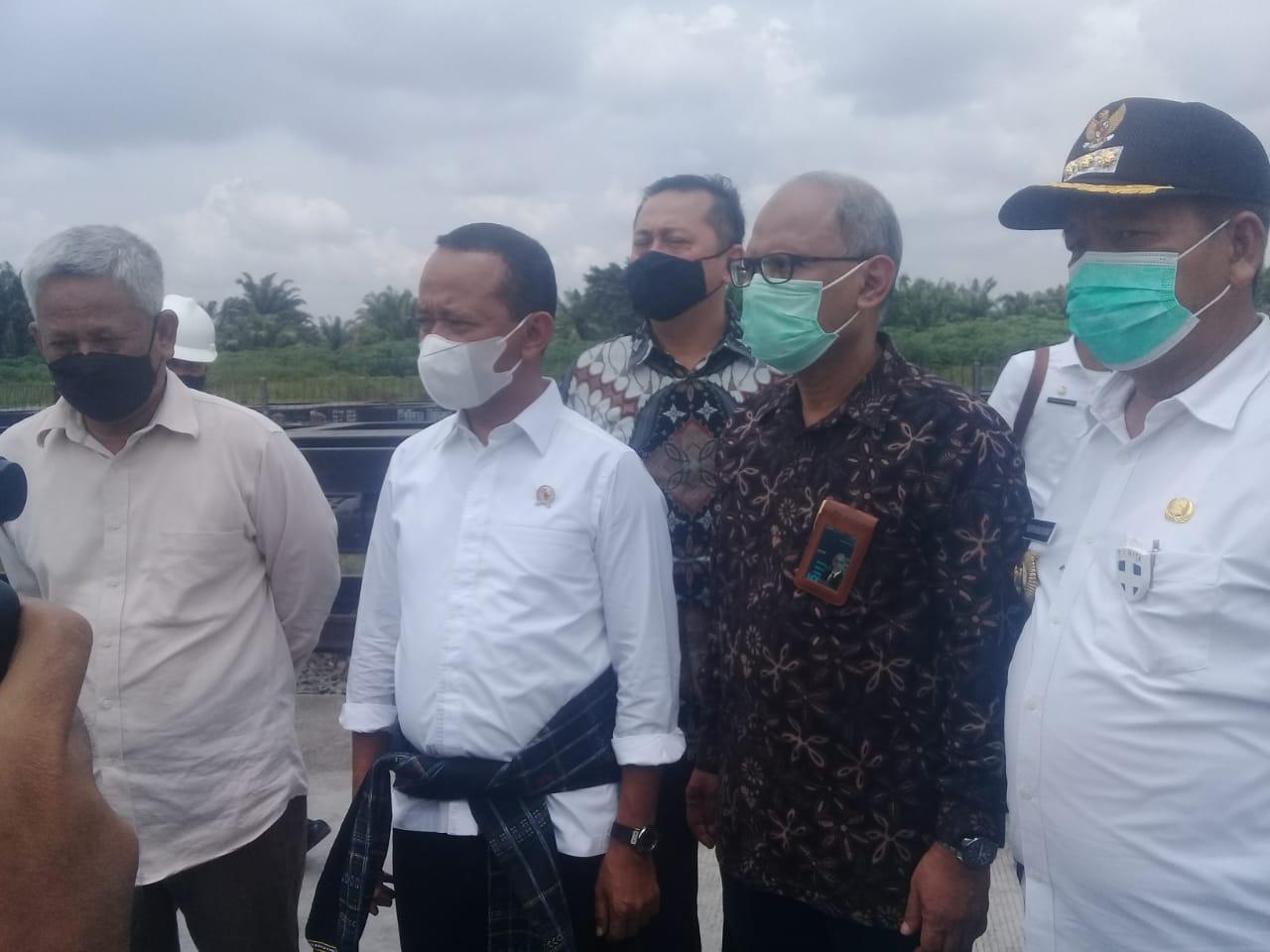 Menteri Investasi Bahlil Lahadalia Kunker Ke Industri Sei Mangkei