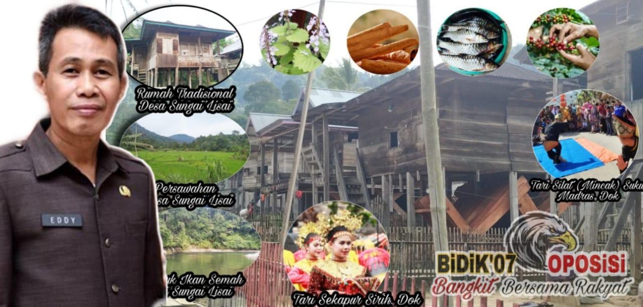 Refocusing Hambatan Desa Sungai Lisai Lebong, Jadi Desa Adat