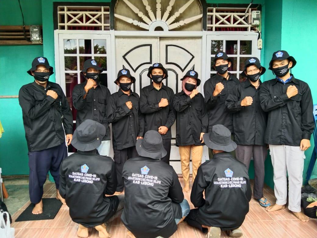 "Satgas Covid-19 Ketenong II ""Gempur"" 1000 Masker Sambut Idul Fitri"