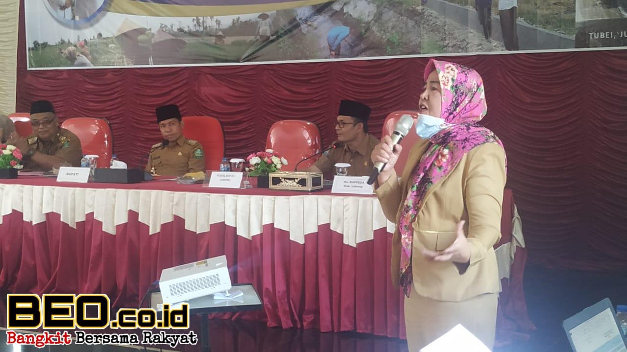 Rakor Pendataan Irigasi Tiga Kecamatan, Bupati Lebong : Bersama-sama Awasi
