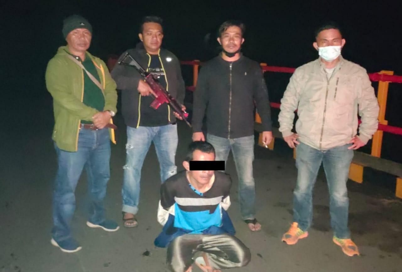 Ini Kronologis Penangkapan Kancin, Terduga Pelaku Pencuri Kulit Manis