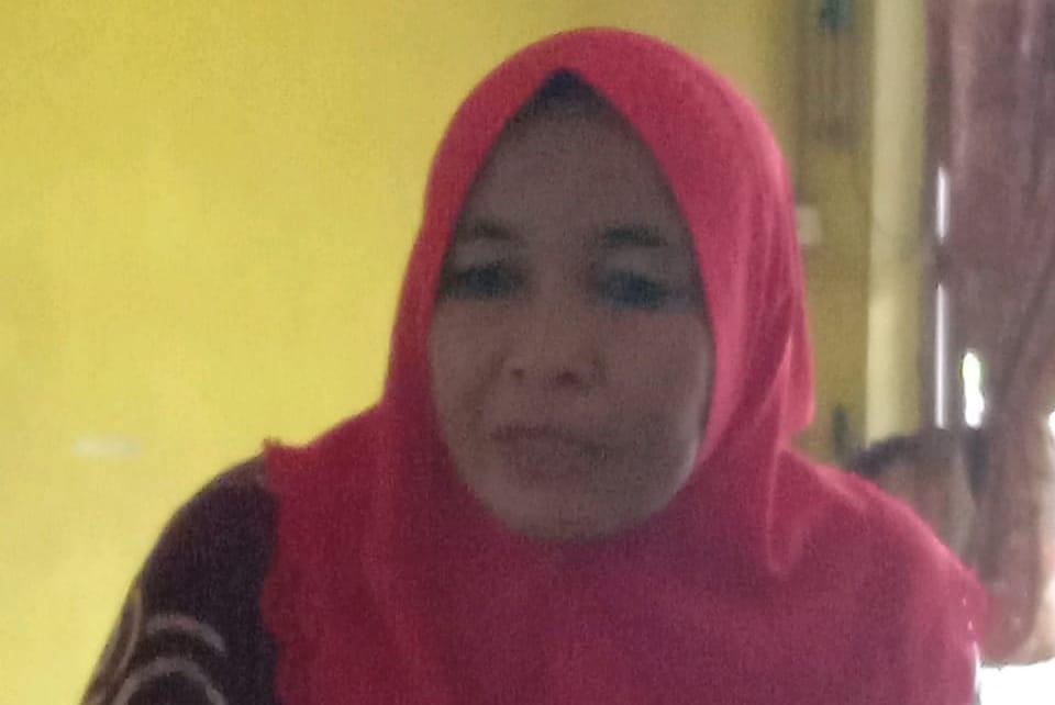 Maita Isteri Abdllah Sani Minta Keadilan, Kades di Bebaskan Dari Tuntutan Mafia Tanah