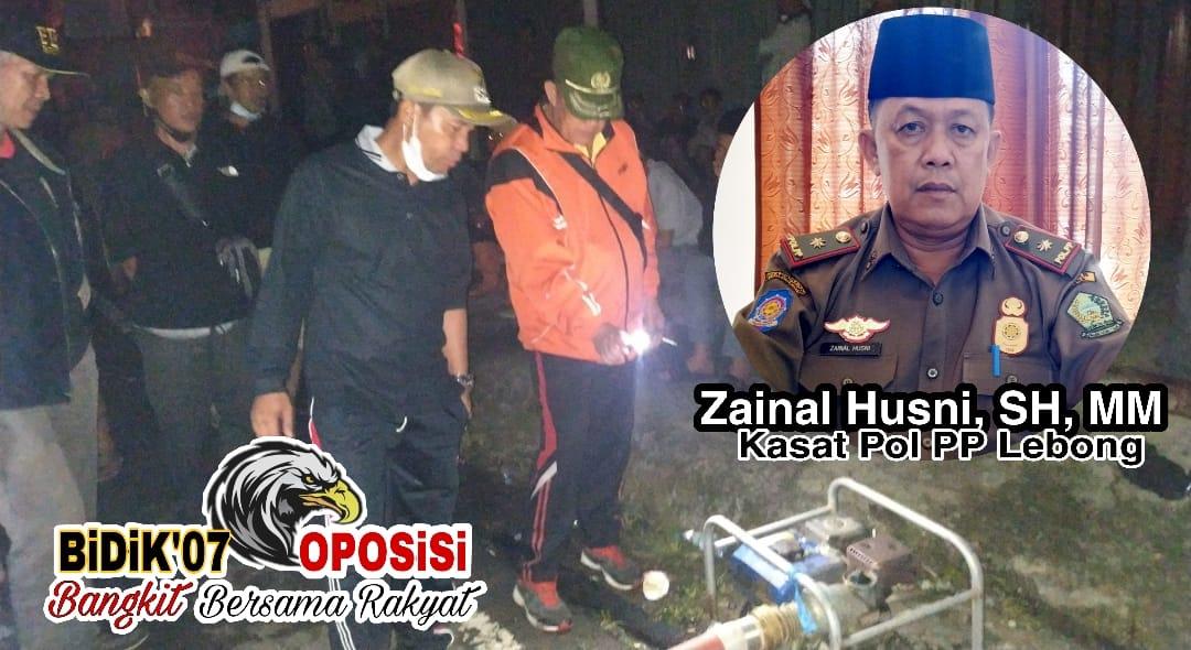 Kasat Pol PP, Zainal Husni : 3 Tahun Usulkan PBK Menjadi Dinas Belum Terwujud ?