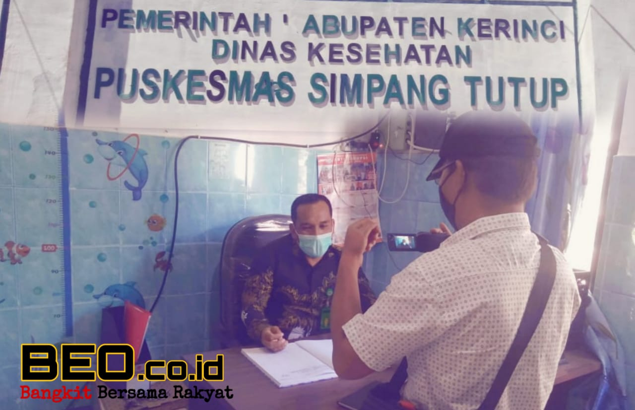 "Kepala Puskesmas Simpang Tutup, Yulis Sarman : ""Vaksinasi Itu Sehat"""