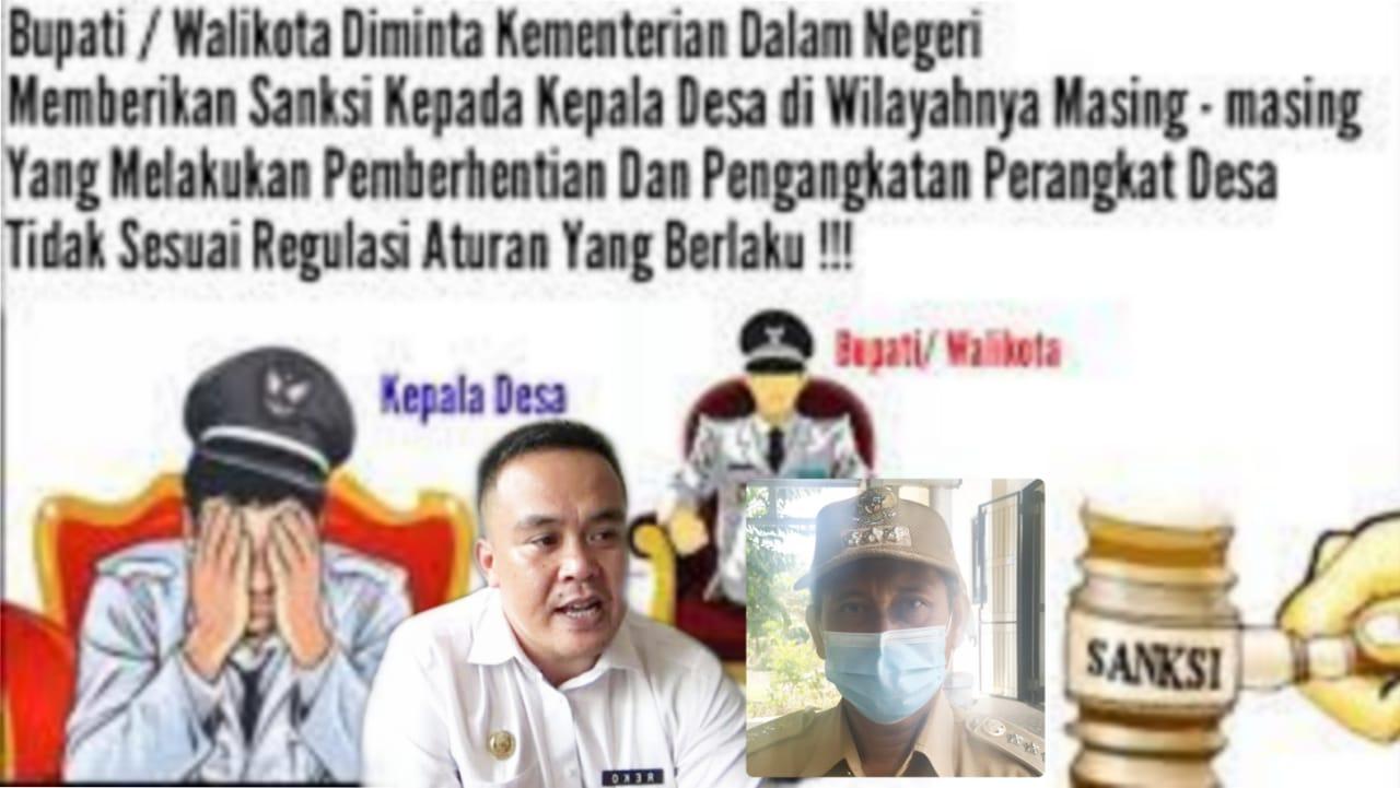 """""""Bupati Lebong Bungkam"""" Pemberhentian Perangkat Desa Dilaporkan ke Ombudsman"""