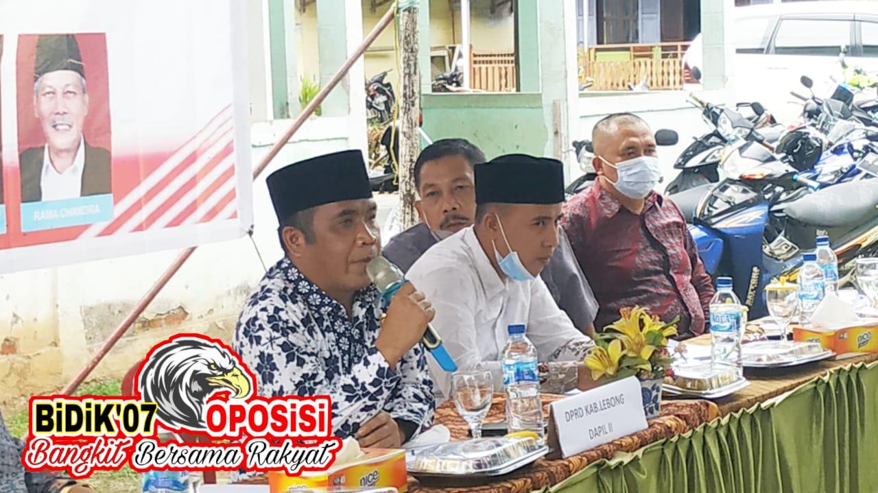 Dewan Lebong Dapil II Jaring Aspirasi Masyarakat Melalui Reses