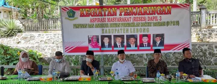 Reses Dapil III, Dewan Lebong Mendengar, Menjaring, Menyaring, Menyuarakan dan Mengawasi
