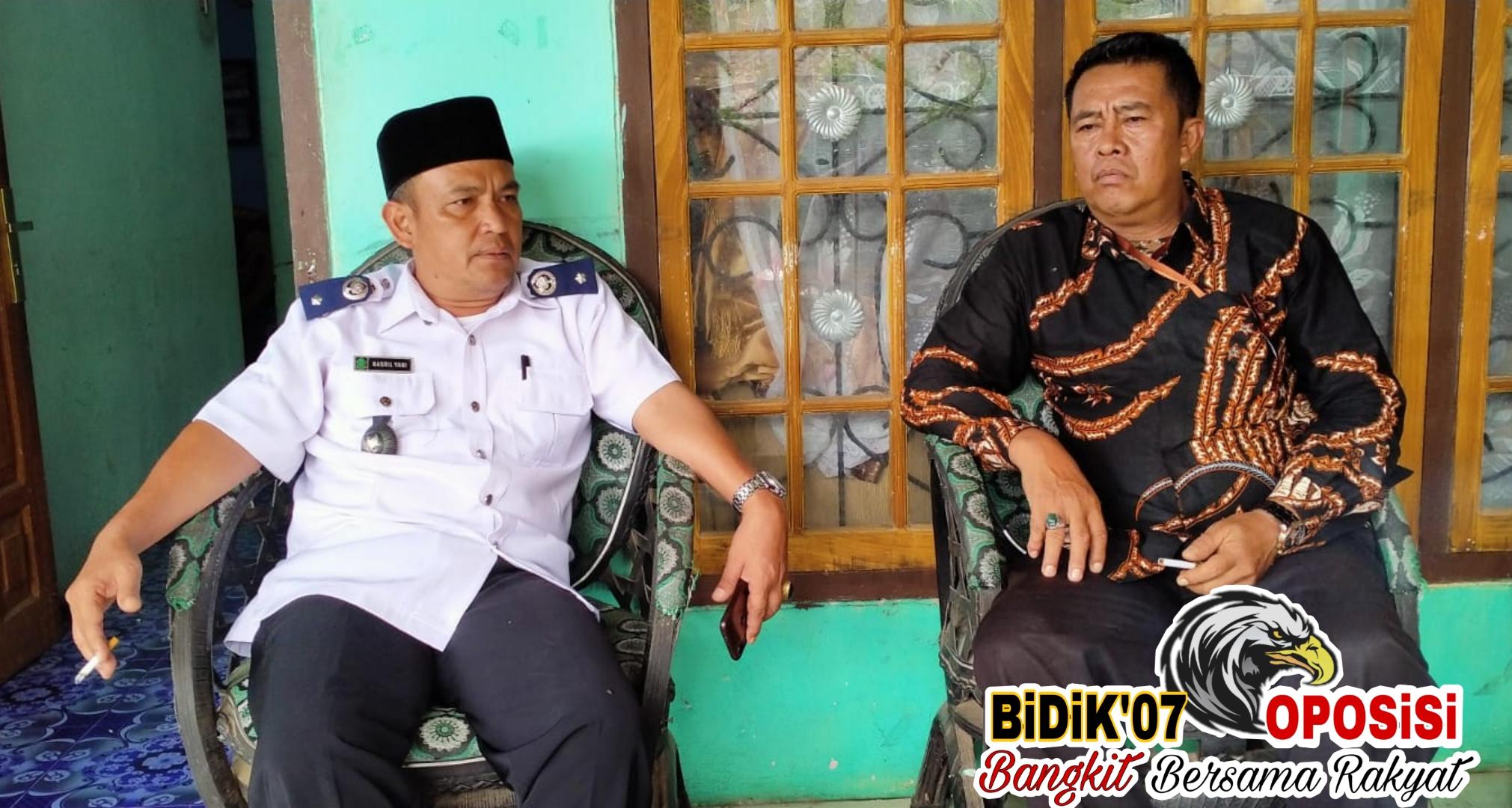 "Ketua FKLPL : ""Cuek"" Tangani Covid-19, Pemdes Tik Kuto Diduga Lawan Pemerintah"