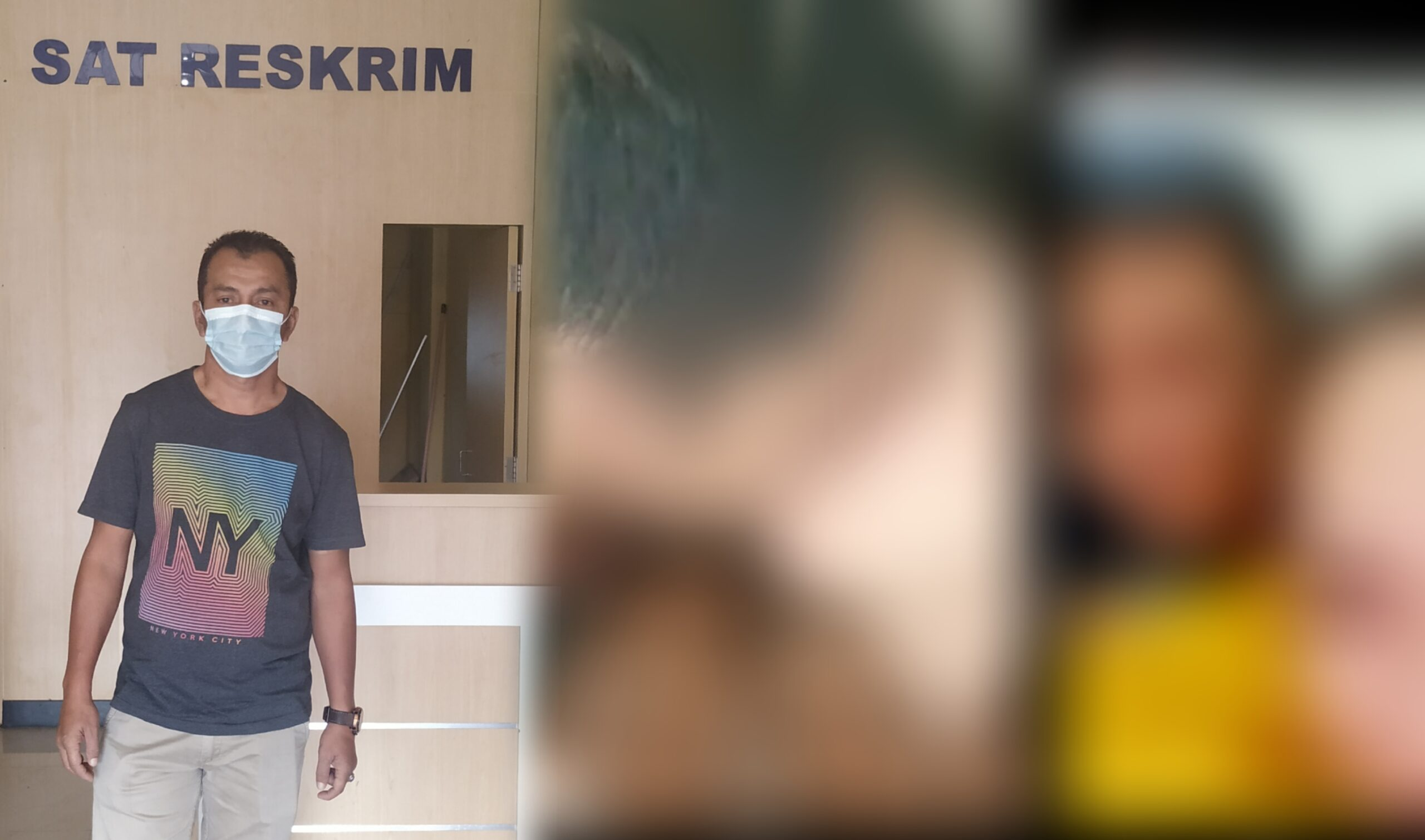 """Video Oknum Lurah """"Hallo Gaes"""" Di Lebong, Akhirnya Dilaporkan Ke Polisi"""