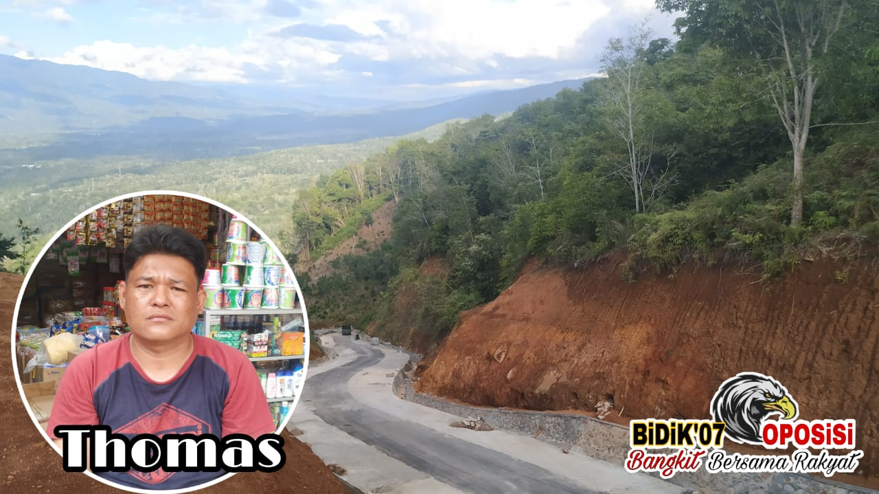 Thomas : Minta APH Usut Tuntas Pengalihan Jalan Tanjung Agung-Danau Liang