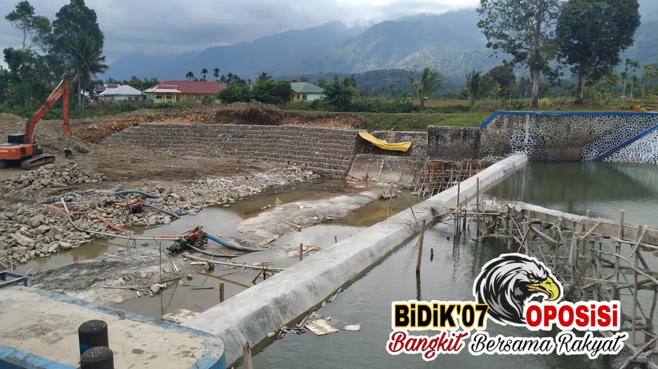 Tunjukkan Progres PT. Promix Prima Karya, 16 September Alirkan Air Ke Saluran