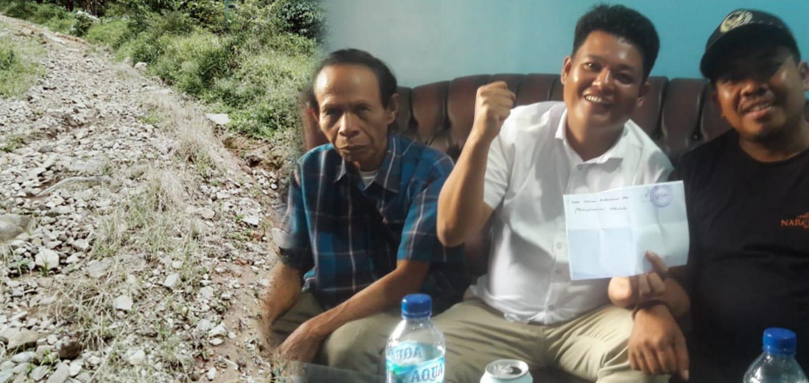 Thomas : Antarkan Surat Hearing Ke DPRD Lebong, Pertanyakan Jalan Tanjung Agung-Danau Liang ?
