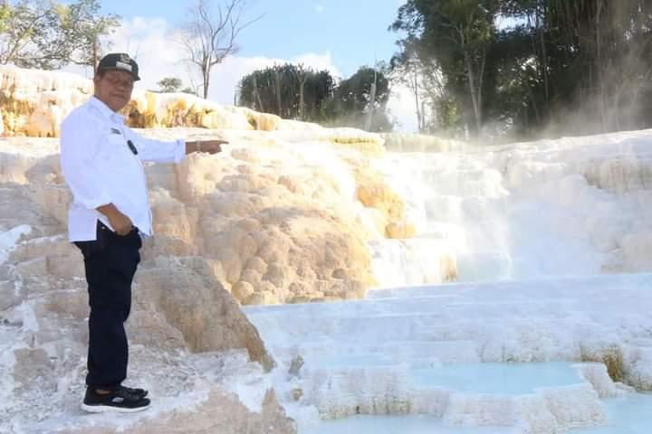 """Wisata Air Panas Tinggi Raja, Bupati Simalungun: """"Kita Akan Benahi Objek Wisata Ini"""""""