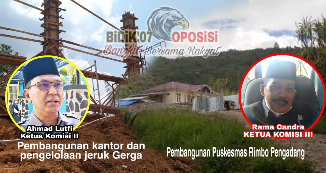 Diduga Tidak Kantongi Izin Lingkungan, 2 Bangunan Rimbo Pengadang 'Disorot' Dewan
