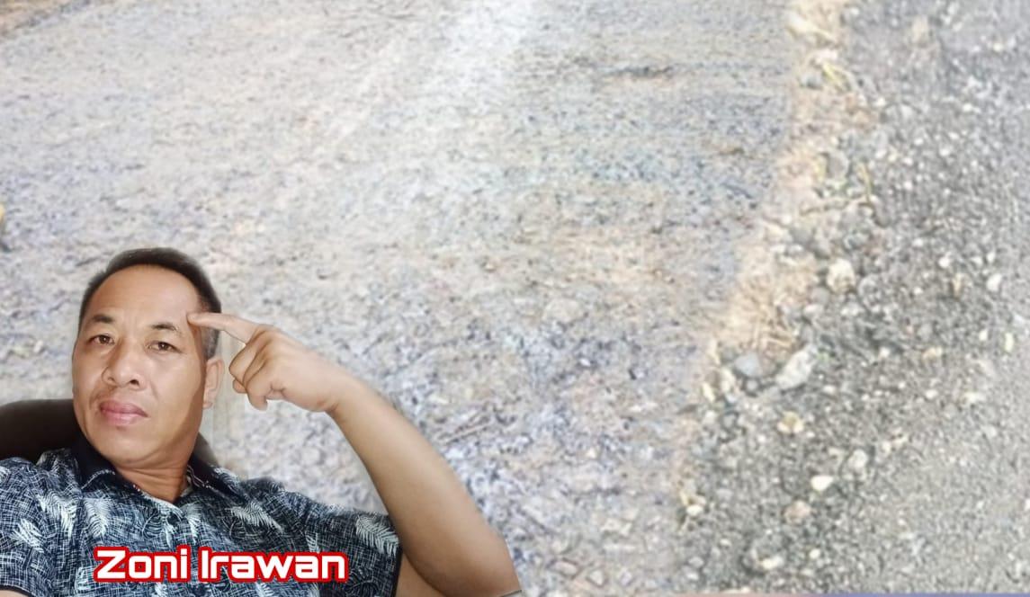 Jalan Hancur Setelah Digoreng Semumu-Bukit Arai