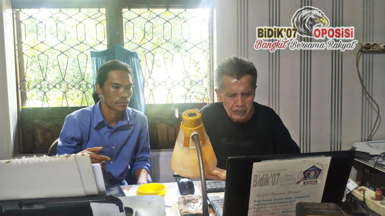 "Edwar Mulfen Surati Dewan Pers & DPD KWRI, ""Kontrol Sosial Tetap Lanjutkan"" !!!"